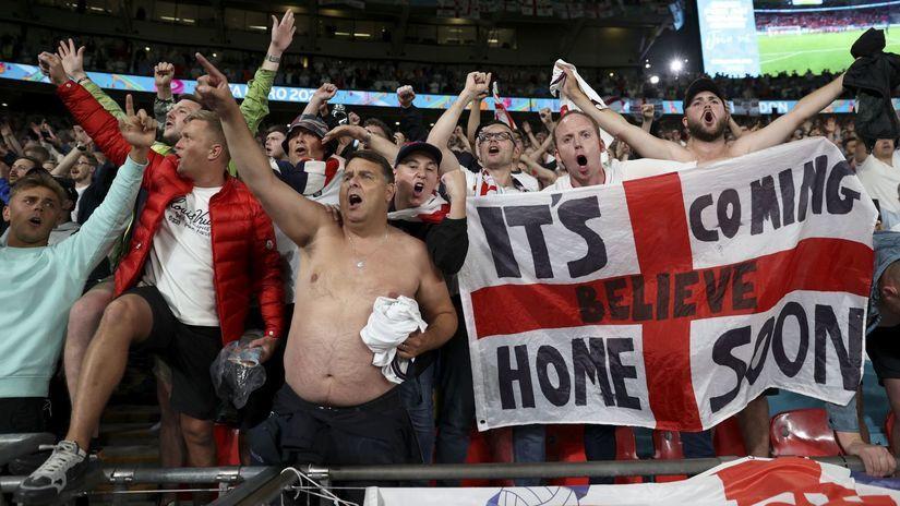 Britain England Denmark Euro 2020 Soccer fans