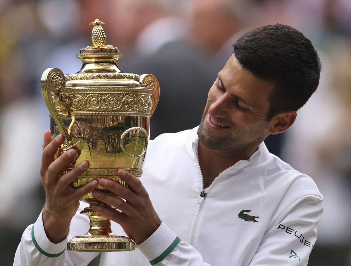 Britain Wimbledon Tennis Djokovič