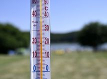 počasie horúčavy teplomer