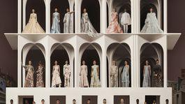 Fendi Couture AW21 Group Shot by Brett LLoyd