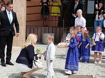 Prezidentka Zuzana Čaputová v Oravskej Polhore