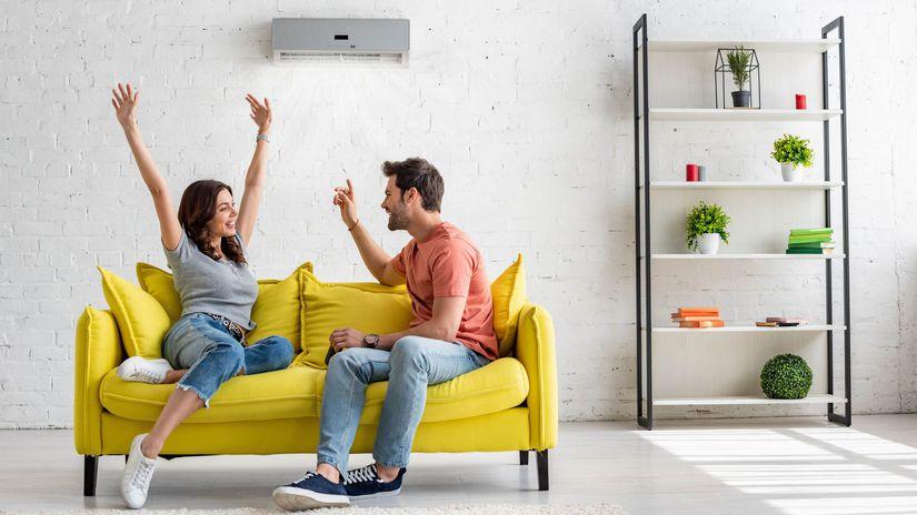 manželia, klimatizácia