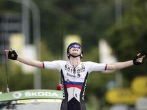 Francúzsko Cyklistika Tour de France 7.etapa Mohorič víťaz