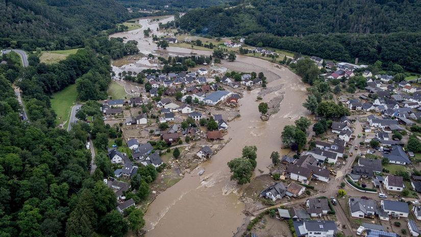 nemecko záplavy povodeň