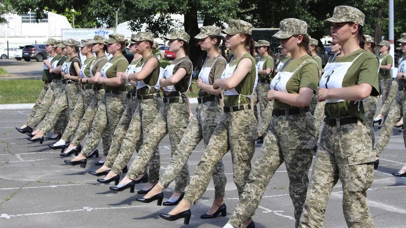 Ukrajina / Armáda / Vojačky / Lodičky / Opätky /