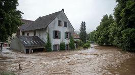 Nemecko, počasie, záplavy