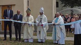 Stropkov, veža kostola, slávnostné otvorenie