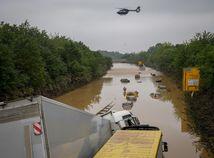 Nemecko počasie povodne obete škody