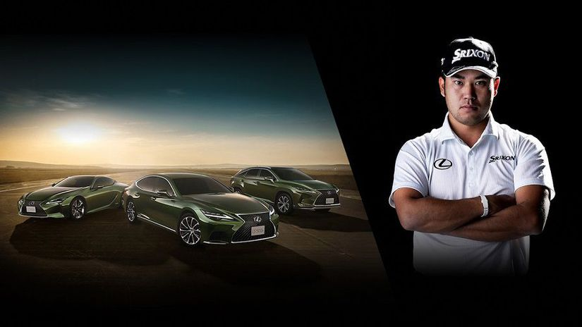 Lexus hideki matsuyama