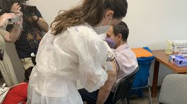 Očkovanie na košickom Luníku IX
