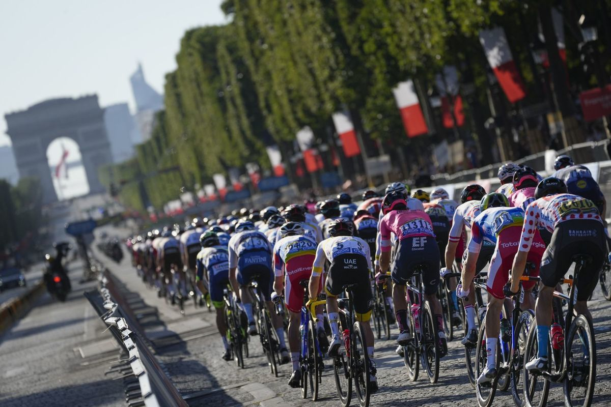 Tour de France, cyklisti