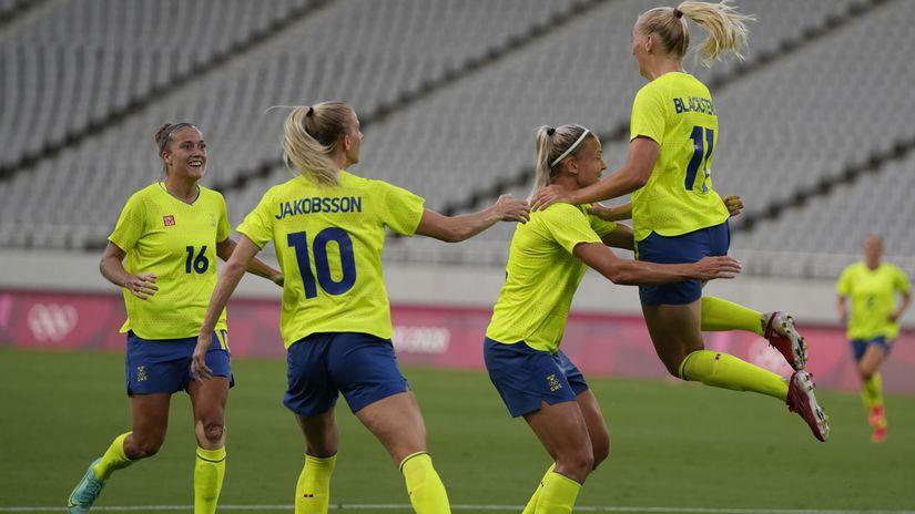futbalistky Švédska