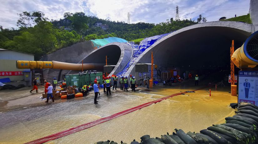 tunel, čína
