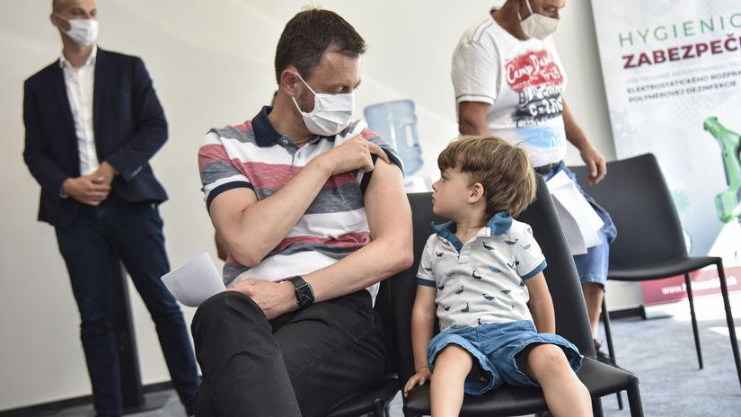 SR premiér Heger očkovanie koronavírus druhá...