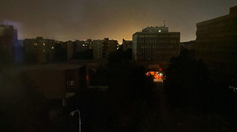 Bratislava, blackout, Ružinov