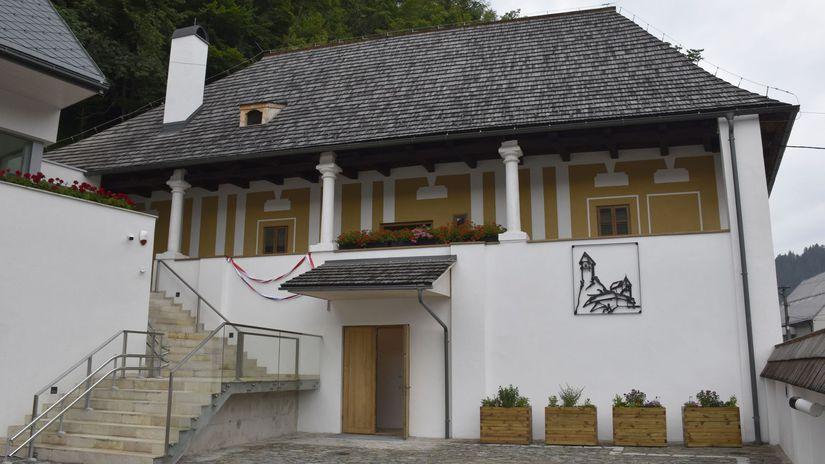 Oravský Podzámok renesančná budova záchrana