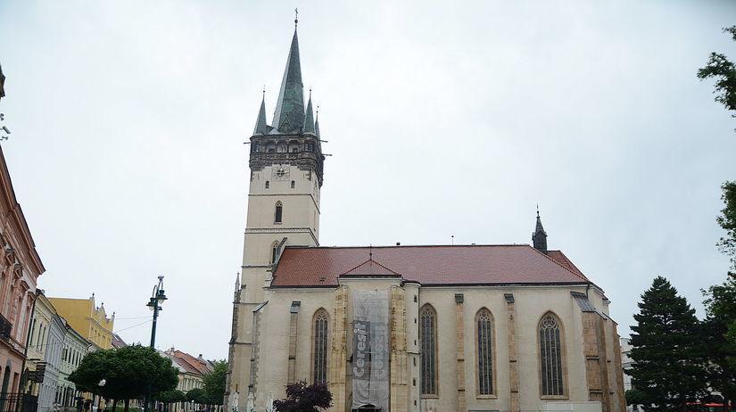 Prešov, konkatedrála svätého Mikuláša
