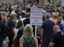 Británia, protesty, koronavírus