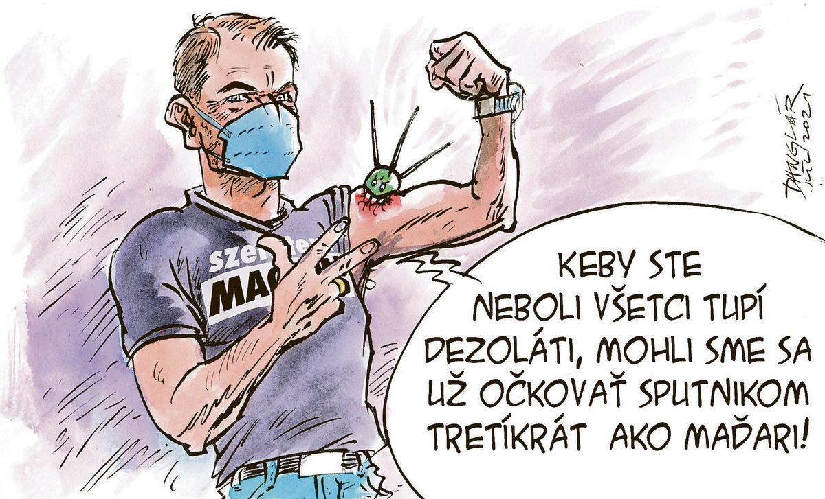 Karikatúra 28.07.2021