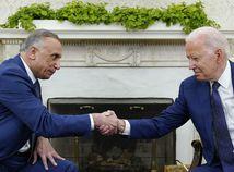 Joe Biden / Mustafa Kázimí /