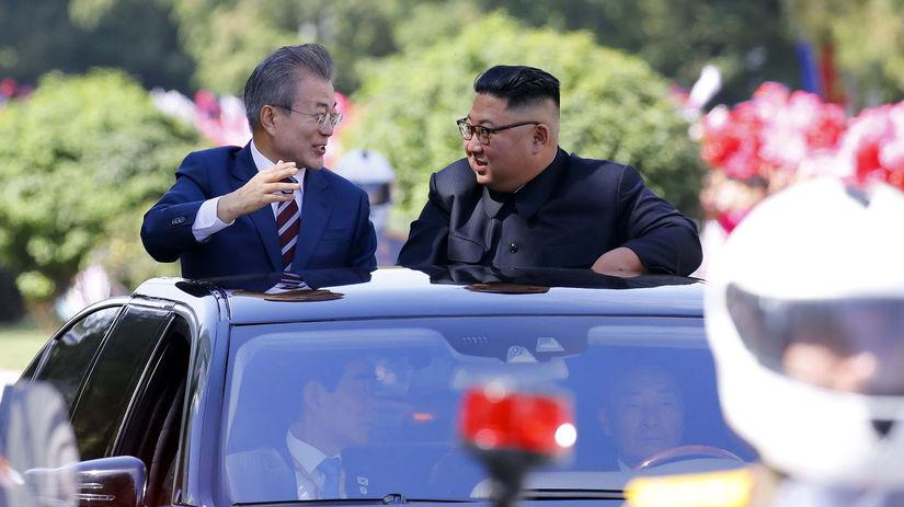 Mun Če-in / Kim Čong-un / Severná Kórea / Južná...