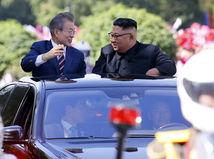 Mun Če-in / Kim Čong-un / Severná Kórea / Južná Kórea /