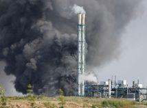 Nemecko Leverkusen výbuch dym