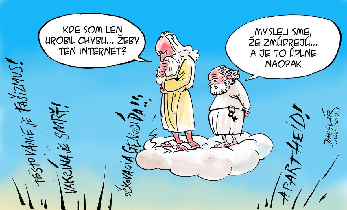 Karikatúra 30.07.2021