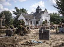 nemecko, záplavy