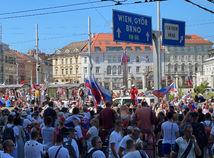 protest demonštrácia hodžovo námestie bratislava