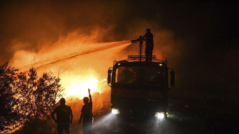 Požiare v Turecku