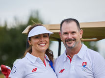 Rory Sabbatini a Martina Sabbatini