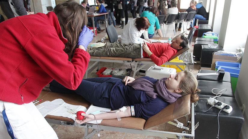 valentínska kvapka krvi, krv, transfúzia