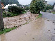 povodeň Valaská Belá potok