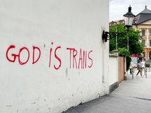 graffiti, kostoly, sprejeri