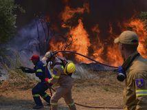 Grécko Požiar Lesný