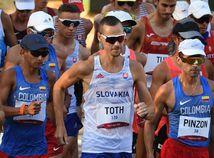 Japonsko OH2020 SR atletika chôdza muži 50 km