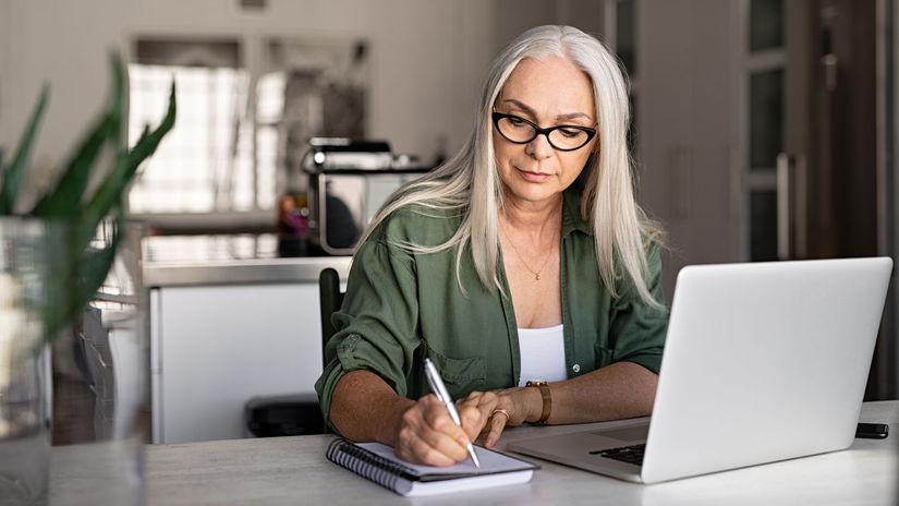 žena, práca, písanie, SZČO, sústredenie,...