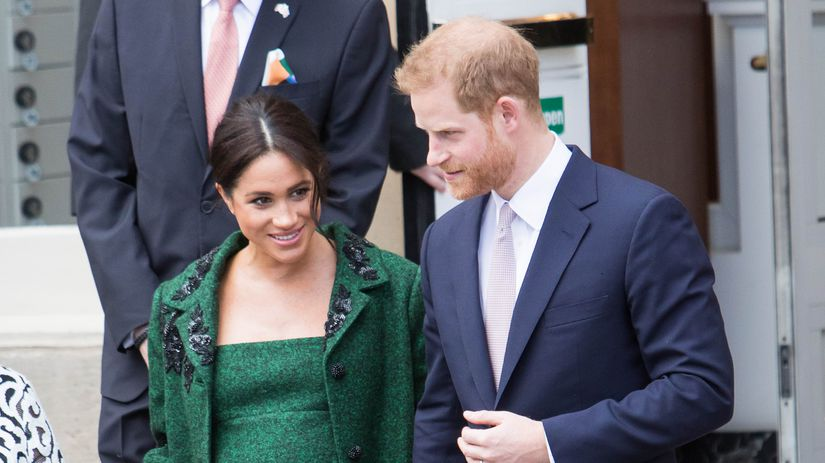 princ Harry, Meghan Markleová, vojvodkyňa Meghan