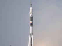 Start der Expedition 56