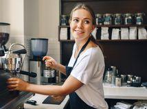 žena, kaviareň, SZČO, podnikanie, práca