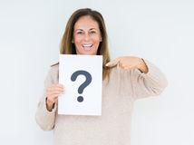 žena, otáznik, otázka