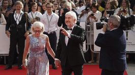 Herec Miroslav Donutil s manželkou Zuzanou Donutilovou