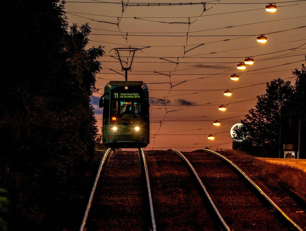 električka, Frankfurt, železnica, doprava