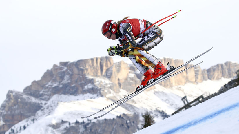 Taliansko Lyžovanie alpské SP zjazd ženy...