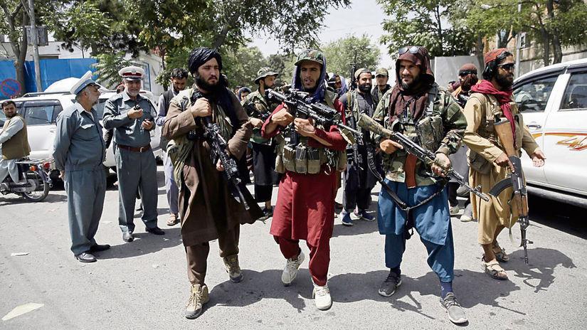 Taliban, teroristi, Kábul, Afganistan