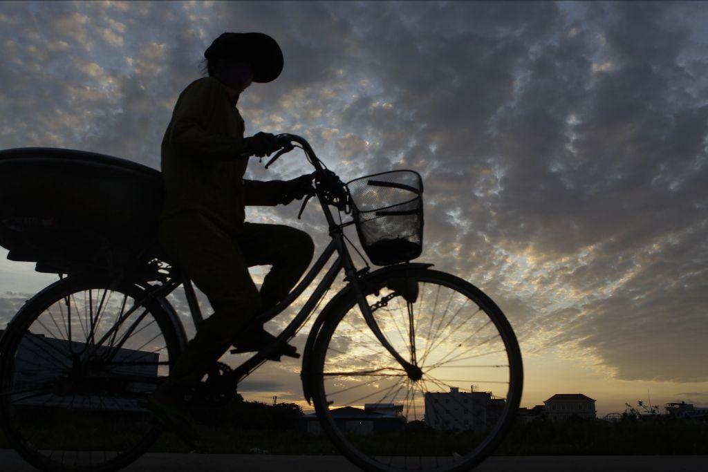 bicykel, Kambodža