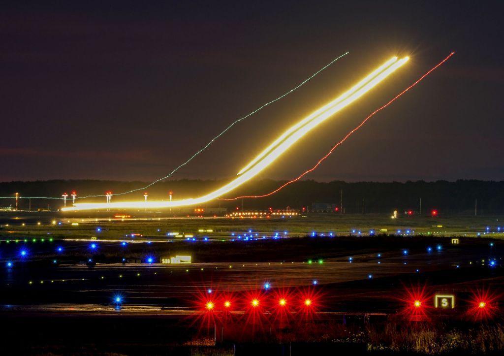 lietadlo, letisko, Frankfurt, cestovanie, doprava