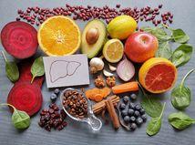 pečeň, potraviny, zdravá strava