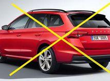 Škoda Fabia Combi - ilustrácia 2021